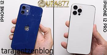 การทดสอบการตกของ iPhone 12 Mini