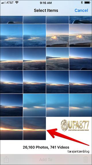 วิธีลบรูปภาพทั้งหมดบน iPhone