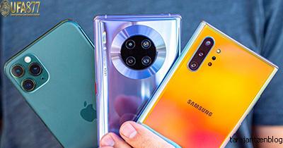 สมาร์ทโฟนรายใหญ่อันดับสามของโลก