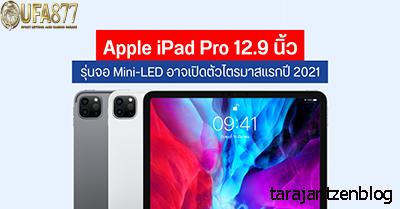 Apple เตรียมวางจำหน่าย iPad Pro รุ่น LED ขนาดเล็ก
