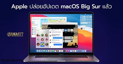 คุณสมบัติใน macOS 12