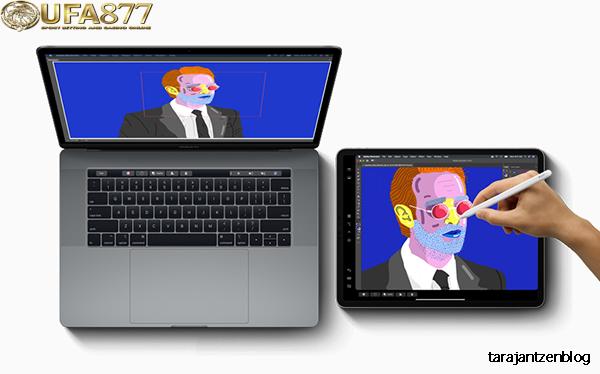 วิธีใช้ iPad เพื่อขยายหรือสะท้อนหน้าจอ Mac
